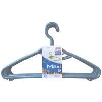 Percha de plástico Maxi MONDEX, 6 uds