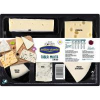 Tabla de quesos surtidos mixtos MILLAN VICENTE, bandeja 250 g