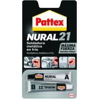 Soldadura metálica en frío PATTEX Nural 21, 22ml