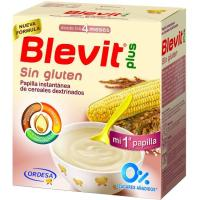 Papilla sin gluten BLEVIT Plus, caja 600 g