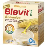 Papilla 8 cereales BLEVIT Plus, caja 600 g