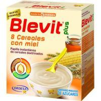 Papilla 8 cereales con miel BLEVIT, caja 600 g