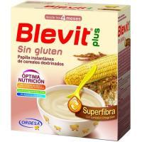 Papilla superfibra sin gluten BLEVIT Plus, caja 600 g