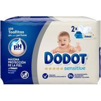 Toallitas DODOT Sensitive, paquete 108 unid.