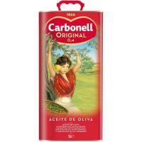 Aceite de oliva 0,4º CARBONELL, lata 5 litros