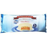 Alfajores de chocolate blanco MARDEL, pack 3x50 g