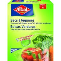Bolsa frescor 3 litros ALBAL, caja 7 unid.