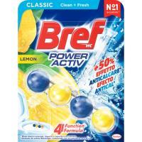 Limpiador wc poder activo limón BREF, pack 1 unid.