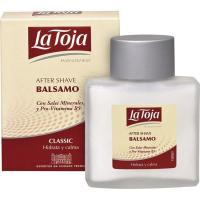 After Shave Balsam LA TOJA, frasco 100 ml