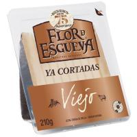 Tapas Maestras de queso de oveja FLOR DE ESGUEVA, cuña 210 g