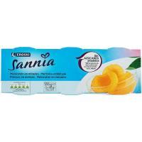 Melocotón sin azúcar EROSKI Sannia, pack 3x115 g