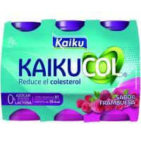 Reductor de colesterol de frambuesa KAIKUCOL Zero, pack 6x65 ml