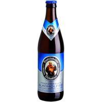 Cerveza sin FRANZISKANER, botellín 50 cl