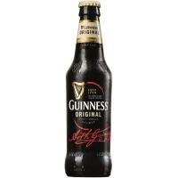 Cerveza original GUINNESS, botellín 33 cl