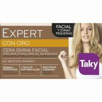 Cera depilatoria divina facial TAKY Pro Oro, tarro 100 g