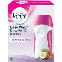 Kit depilatorio eléctrico VEET, roll-on + Recambio