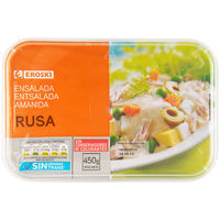 Ensalada rusa EROSKI, tarrina 450 g