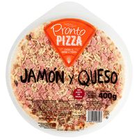 Pizza de jamón-queso PRONTO PIZZA, 1 ud., 400 g