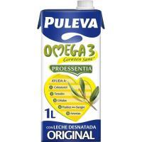 Preparado Lácteo Omega3 PULEVA, brik 1 litro