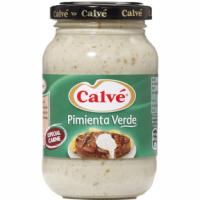 Salsa de pimienta verde CALVÉ, frasco 225 g