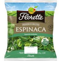 Primeros brotes de espinaca FLORETTE, bolsa 125 g