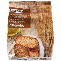 Panecillos integrales EROSKI, paquete 200 g