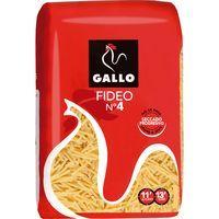 Fideo Nº 4 GALLO, paquete 500 g