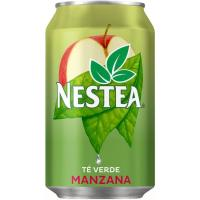 Té verde-manzana NESTEA, lata 33 cl