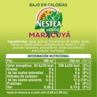 Té verde-maracuya NESTEA, botella 1,5 litros