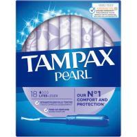 Tampón lites TAMPAX PEARL, caja 18 unid.