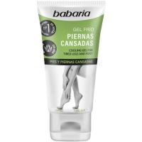Gel de aloe para piernas BABARIA, tubo 150 ml