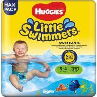 Pañal bañador 7-15 kg Talla 3-4 L. SWIMMERS, paquete 20 uds