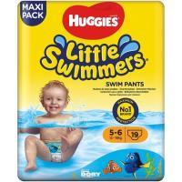 Pañal bañador 12-18 kg Talla 5-6 L. SWIMMERS, paquete 19 unid.