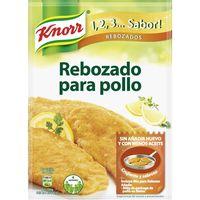 Rebozado de pechugas de pollo KNORR, sobre 100 g
