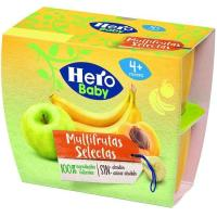 Todofruta multifrutas HERO, pack 4x100 g