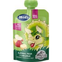 Bolsita de plátano-fresa HERO, doypack 100 g