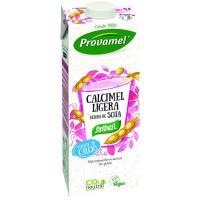 Bebida de soja con calcio ligera PROVAMEL, brik 1 litro
