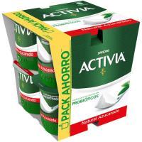 Activia natural azucarado DANONE, pack 8x125 g
