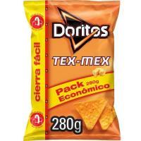 Nachos de maíz DORITOS Tex Mex, bolsa 280 g