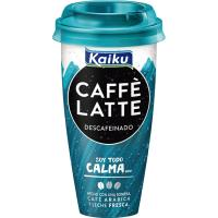 Café Latte Descafeinado KAIKU, vaso 230 ml