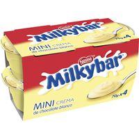 Crema Milkybar NESTLÉ, pack 4x70 g