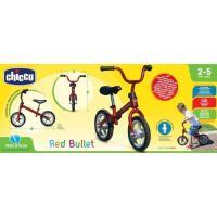 First Bike, bici sin pedales roja,edad rec:2-5 años CHICCO, peso máximo 25 Kg.