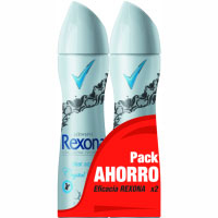 Desodorante Clear Aqua REXONA, pack 2x200 ml