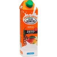 Lactozumo zero tropical DON SIMÓN, brik 1 litro