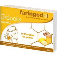 Miel en pastilla FARINGEDOL, caja 10 unid.