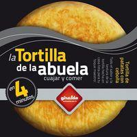 Preparado de tortilla con huevo GIRALDO, bandeja, 400 g