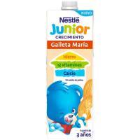 Leche de crecimiento con galleta 2+ NESTLÉ Energy, brik 1 litro