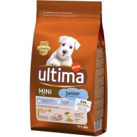 Alimento de pollo para perro mini junior ULTIMA, saco 1,5 kg