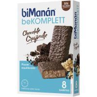 Barritas de chocolate BIMANÁN, caja 8 unid.