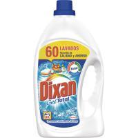 Detergente gel DIXAN, garrafa 60 dosis